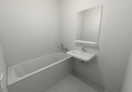 Fotka galérie Vizualicázie toalety a kúpelní v bytových domoch - 3