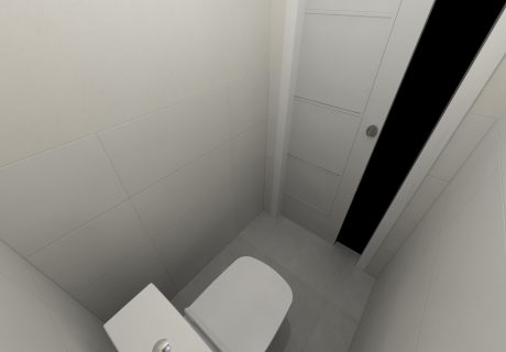 Fotka galérie Vizualicázie toalety a kúpelní v bytových domoch - 5