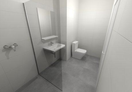 Fotka galérie Vizualicázie toalety a kúpelní v bytových domoch - 2