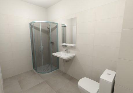 Fotka galérie Vizualicázie toalety a kúpelní v bytových domoch - 1