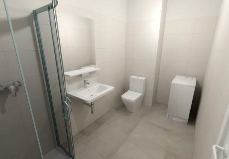 Fotka galérie Vizualicázie toalety a kúpelní v bytových domoch - 0